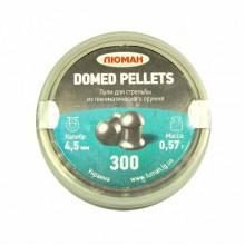 """Пули """"Люман"""" к. 4.5 мм Domed Pellets 0,57 г 300 шт"""
