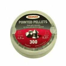 """Пули """"Люман"""" к. 4.5 мм Pointed Pellets 0,57 г 300 шт"""