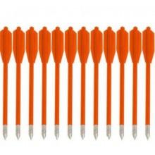 Стрела арбалетная Man Kung MK-PL-О, оранжевые