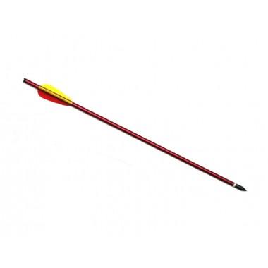 Стрела арбалетная Man Kung MK-AL 16R, алюминий, красные