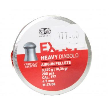 Пули пневматические JSB Diablo 4.52mm 0.670 gr 200шт