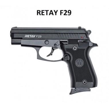 Пістолет стартовий Retay F 29 чорний