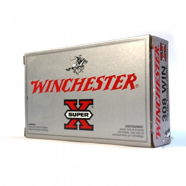 Патрон нарезной Winchester Super X 308Win Power point 150gr/9.72г (20шт)