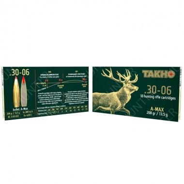 Патрон нарезной Тахо A-Max 178 gr к. 300 Win Mag