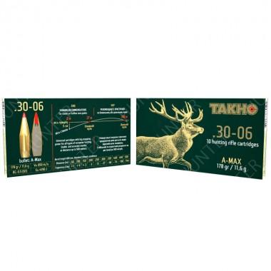 Патрон нарезной Тахо A-Max 178 gr к. 30-06 пуля (11,6г)
