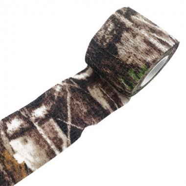Лента маскировочная 7,5х450см Tree Camo (самоклеющаяся)