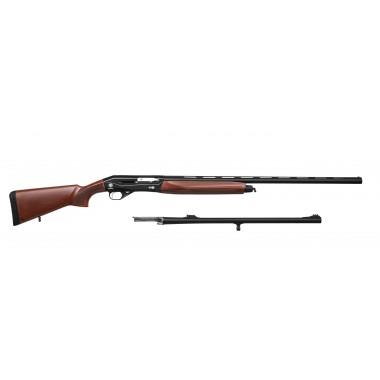 Полуавтоматическое ружье HUGLU RENOVA BLACK combo 12/76 + 61 см