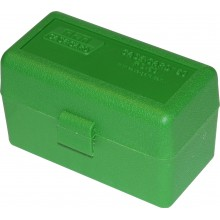 Кейс МТМ на 50 патронов 223 Rem зеленый