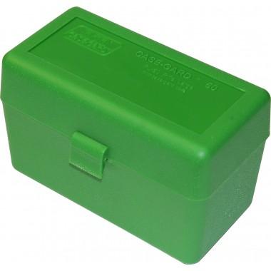 Кейс МТМ на 50 патронов 308 Win 30-06 зеленый