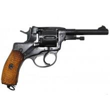 Травматический револьвер Наган СКАТ -1Р дерево