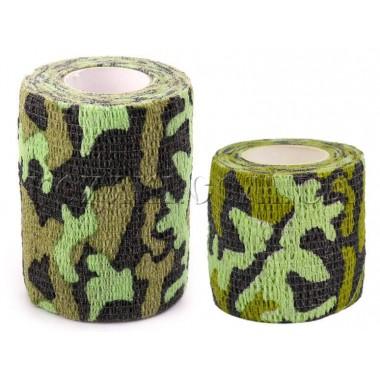 Лента маскировочная 7,5х450см Green Grass Camo (самоклеющаяся)
