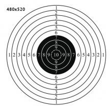 Мішень 480*520 мм