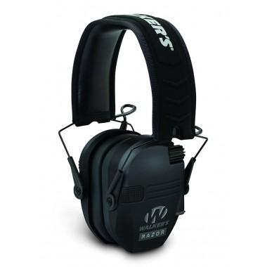 Наушники Walkers Razor Slim Electronic Quad Ear Muff черные