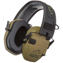 Наушники Walkers Razor Slim Electronic Quad Ear Muff олива