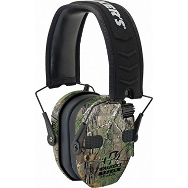 Наушники Walkers Razor Slim Electronic Quad Ear Muff камуфляж