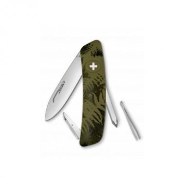 Нож Swiza C02, хакі silva, 6 ф., отвертка