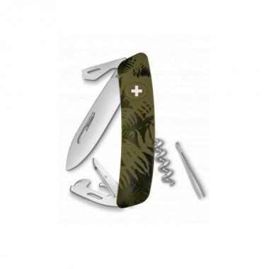 Нож Swiza C03, хакі silva, 11 ф., штопор