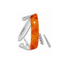 Нож Swiza C03, оранж. filix, 11 ф., штопор