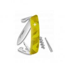Нож Swiza C03, желтый velor, 11 ф., Штопор