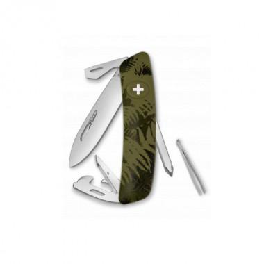 Нож Swiza C04, хакі silva, 11 ф., отвертка