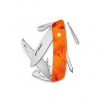 Нож Swiza C06, оранж. filix, 12 ф., пила / отвертка