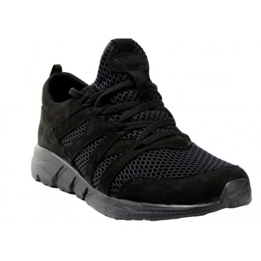 Кроссовки Лео черные