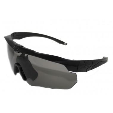 Очки тактические ESS Crossbow на 3 линзы, черная оправа