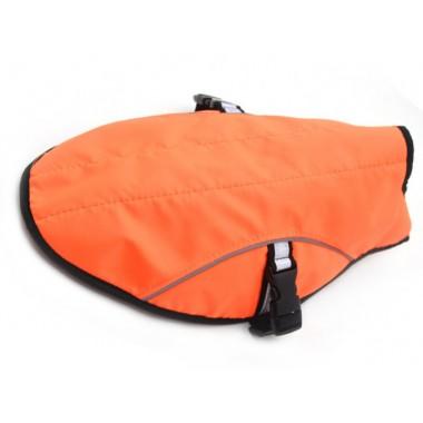 Накидка (попона) для собак большая оранжевая
