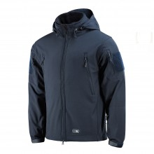 Куртка M-TAC SOFT SHELL DARK NAVY BLUE с подстежкой