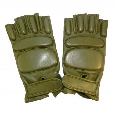 Перчатки без пальцев хаки р.10,5