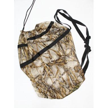 Мішок-рюкзак для підсадних опудал комиш