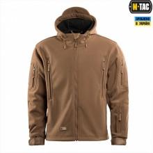 Куртка M-TAC флисовая WINDBLOCK DIVISION GEN.II COYOTE BROWN