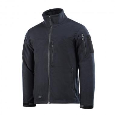 Куртка M-TAC ALPHA WINDBLOCK LIGHT FLEECE DARK NAVY BLUE