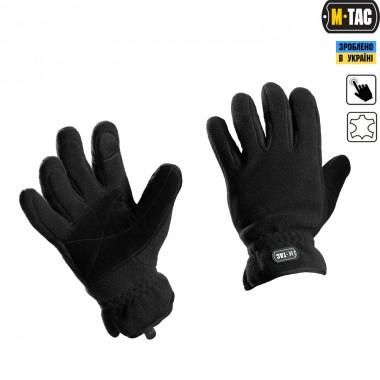 Перчатки M-Tac Winter Tactical Windblock 295 Black