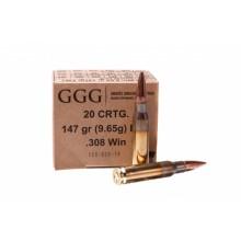 Патрон GGG FMJ 147 гр. 308Win