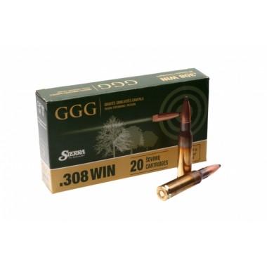Патрон GGG Sierra HPBT 308 Win 168 гр