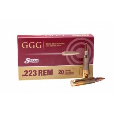 Патрон GGG к.223Rem 69g (4,47г) HPBT 20шт/уп