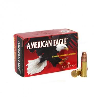 Патрон нарезной Federal American Eagle Promo 22Lr CPHP 38gr/2,46г (40шт)