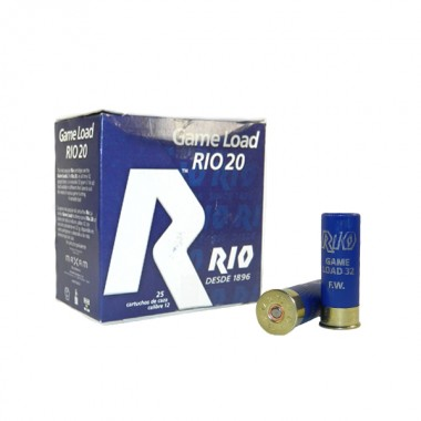 Патрон RIO Game Load-32 FW NEW 12/70 №3 32 гр,б/к
