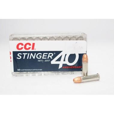 Патрон нарезной CCI Stinger 22Lr CPHP 32gr/2.07г (50шт)