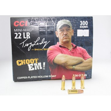 Патрон нарезной CCI Mini-Mag 22Lr  CPHP 36gr/2,33г (300шт)