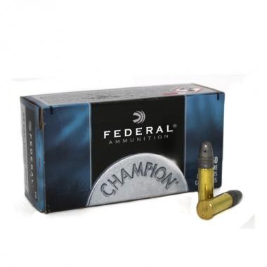 Патрон нарезной Federal Champion Target 22LR Solid 2,59гр