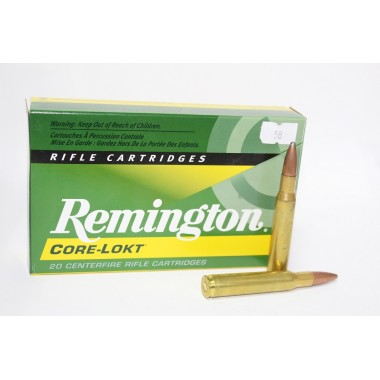 Патрон нарезной Remington Core-Lokt 30-06 Pointed Soft Point 180gr/11.66г (20шт)