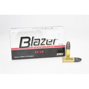 Патрон нарезной CCI Blazer 22Lr Lead Round Nose 40gr/2,6г (50шт)