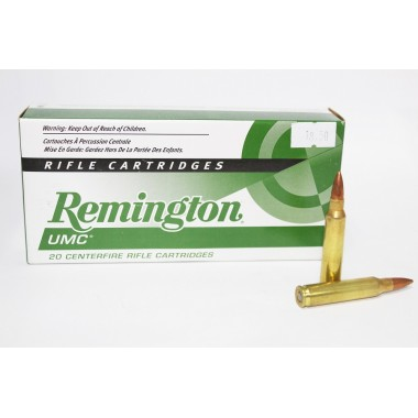 Патрон нарезной Remington UMC 223Rem Metal Case 55gr/3,6гр (20шт)