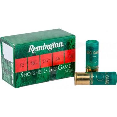 Патрон Remington BP BIG GAME 12/70 3/0 36gr