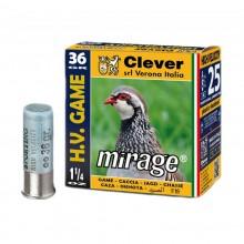 Патрон MIRAGE Т3. H.V. 12/16/70 Game №0 4mm 36gr контейнер