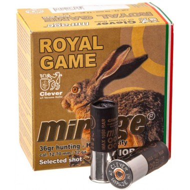 Патрон MIRAGE Т4  Royal Game (б/к) к.12/22/70 №0  36гр