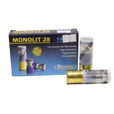 Патрон D Dupleks Monolit 25 кал. 16/70 пуля Monolit масса 25 г