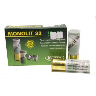 Патрон D Dupleks Monolit 32 кал. 12/70 пуля Monolit 32 г